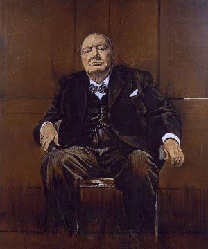 Graham Sutherland Winston Churchill : graham, sutherland, winston, churchill, Secret, Winston, Churchill's, Unpopular, Sutherland, Portrait, Revealed, Churchill, Paintings,, Portrait,