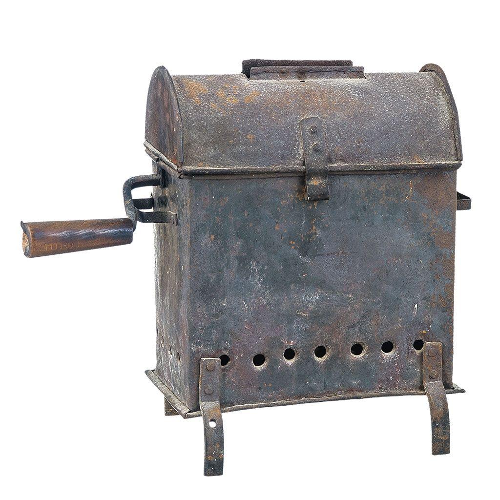 Antiguo Asador De Casta As S Xix Fabricado En Hierro Medidas  # Muebles Faustino Punzon
