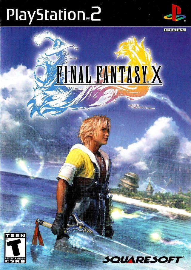 Final Fantasy X 10 Sony Playstation 2 Game Final Fantasy X
