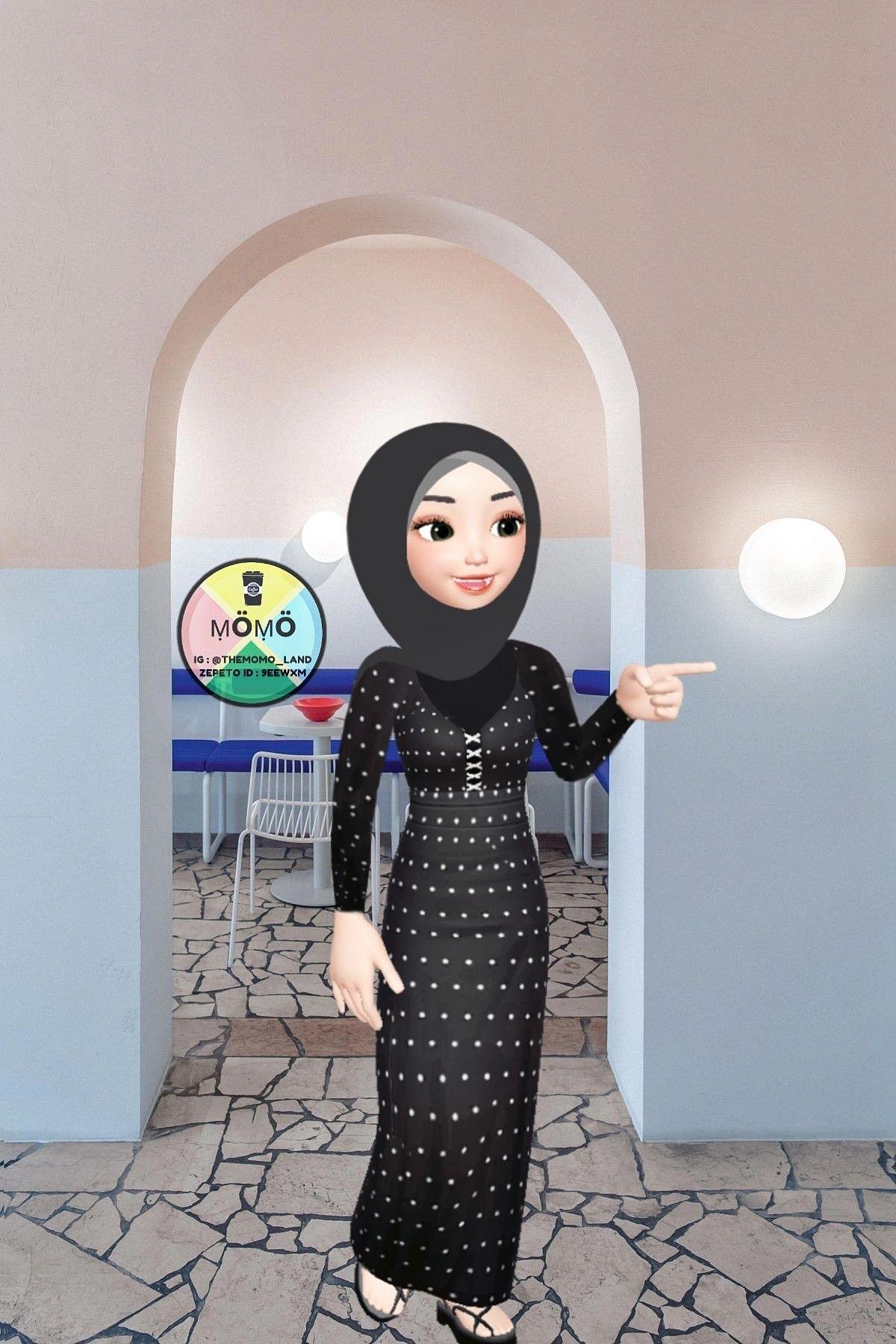 Pin oleh Nosaybataher di Hijab cartoon Putri