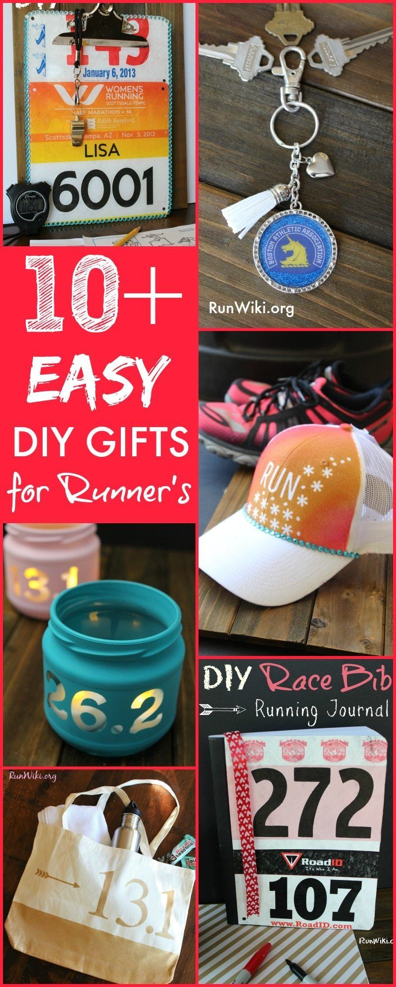 Easy diy christmas gifts for runners so many great ideas
