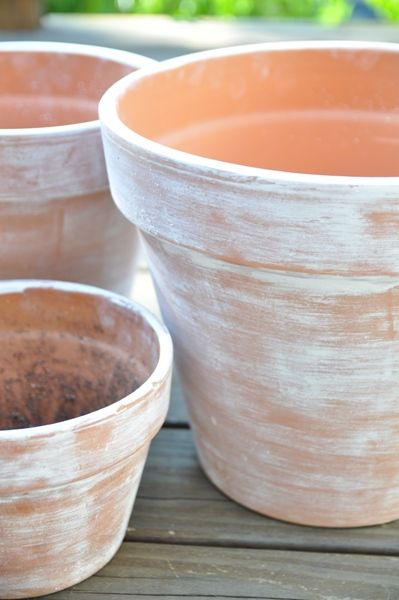 How To Get The Look Of Aged Terracotta Pots Aging Terra Cotta Pots Terracotta Pots Terracotta