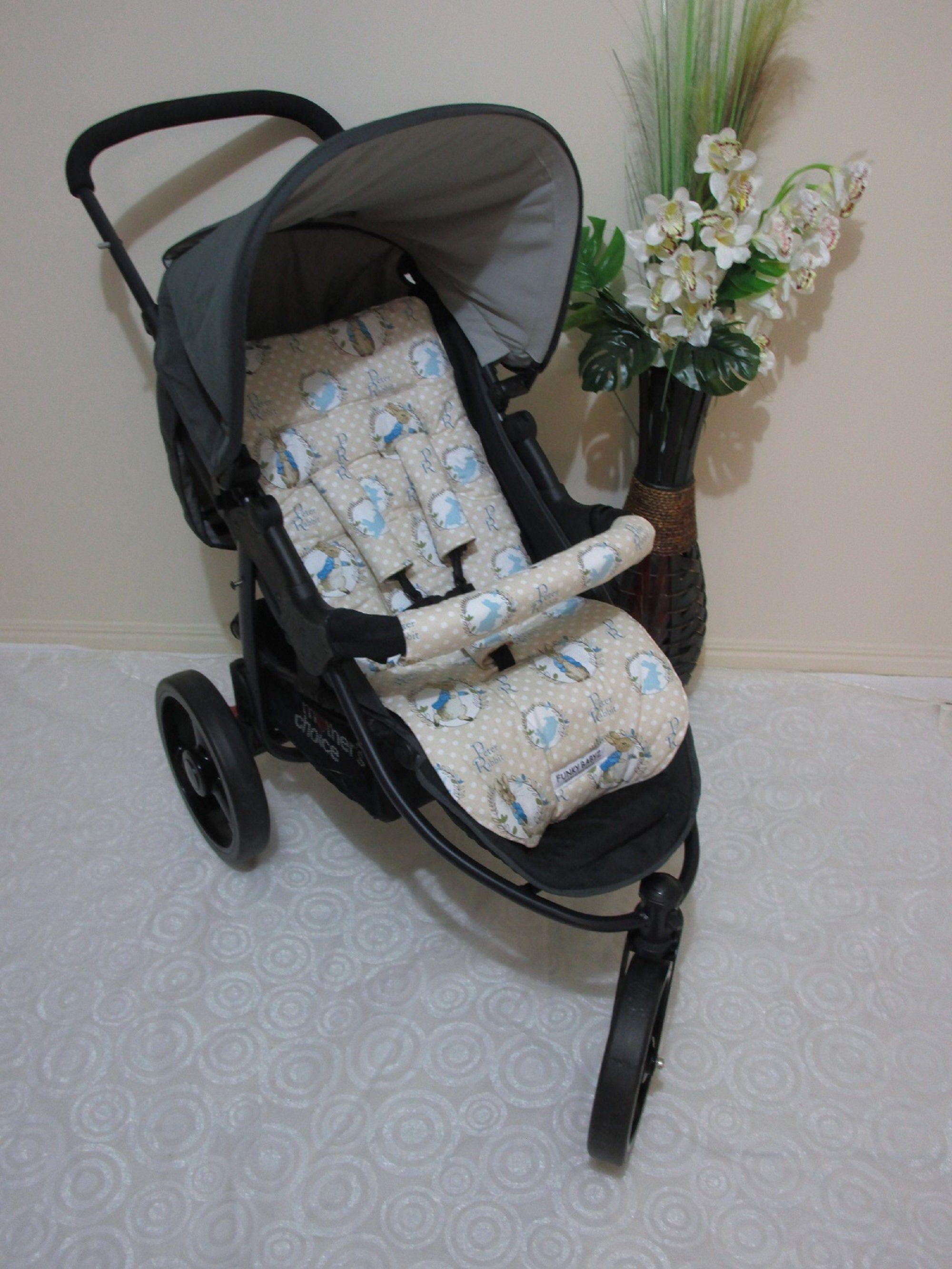 Stroller/pram liner set,100 cotton fabric.universalPeter