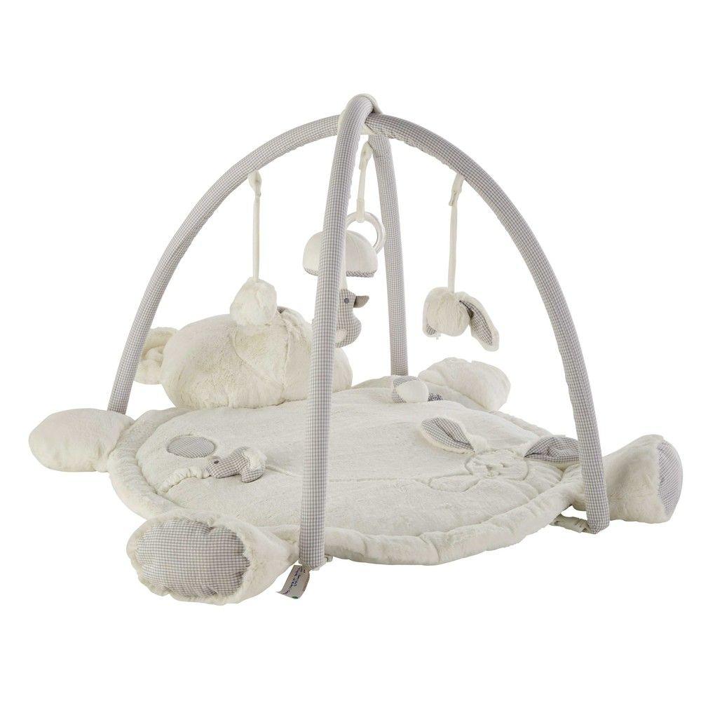Tapis Déveil Ourson En Coton 60 X 90 Cm Baby Bedroom Pinterest