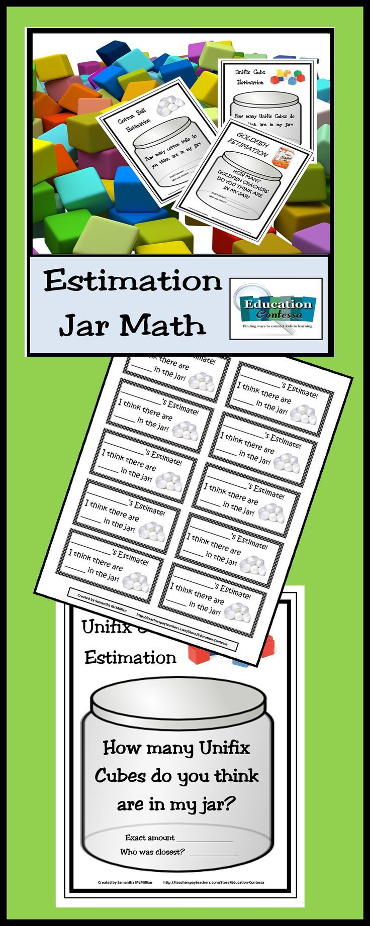 Start your back to school activities off with some class estimation