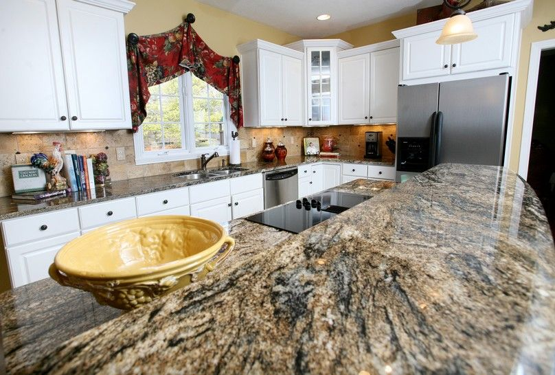 Countertops for White Kitchen Cabinets | Home Sweet Home | Pinterest