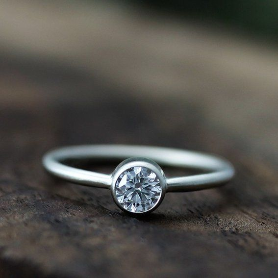 Top 5 Eco Friendly Engagement Rings From The Wedding Snap Blog! An Eco  Friendly #wedding Ring   Really Simple, But Beautiful.