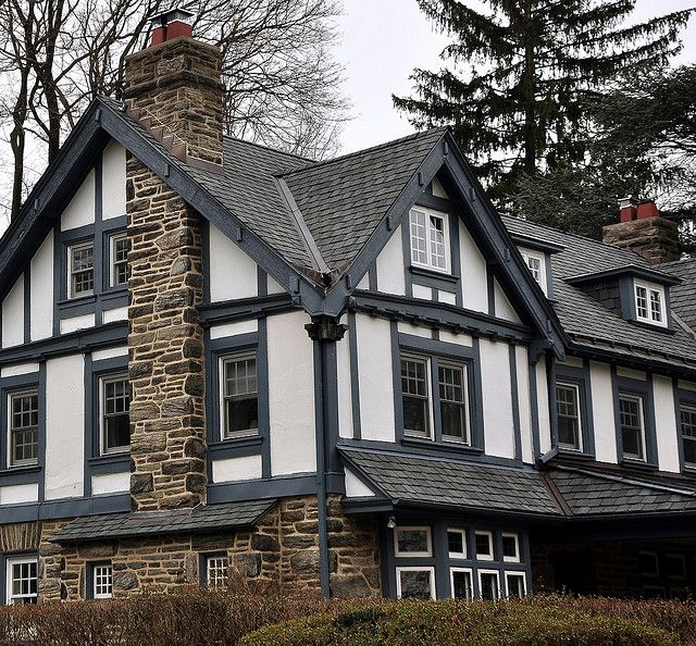 Tudor House Narberth Pennsylvania Homes The English Styles Pinterest Beautiful