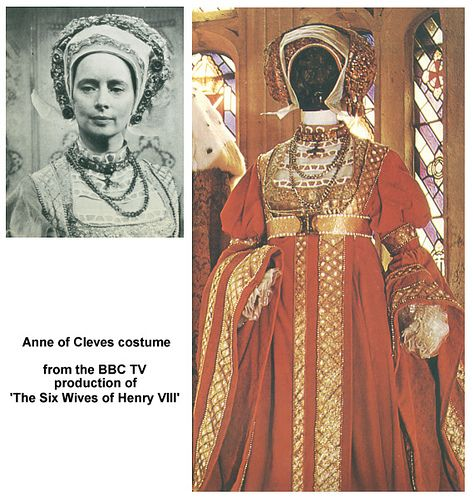 Photo of BBC Anne of Cleves costume