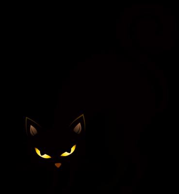 Img Clipartfest Com 58d352a2321d7d1057bcc87400566282 Halloween Black Cat Clipart Angry Black Cat Clipart 369 400 Png Scary Cat Halloween Yard Art Cat Clipart