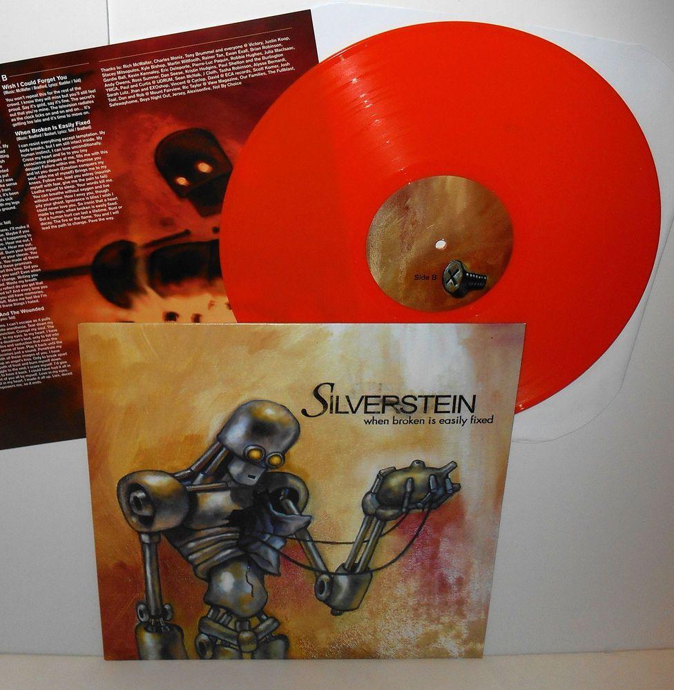 Silverstein When Broken Is Easily Fixed Lp Record Smoke Vinyl With Lyrics Insert Vinyl Records Silverstein