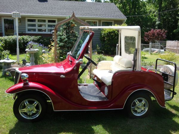 Look Hot on the Golf Course in this 2007 eRoadster Golf ...