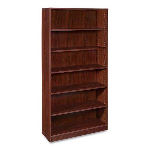 Lorell 5 Shelf Bookcase 36 By 12 1 2 72