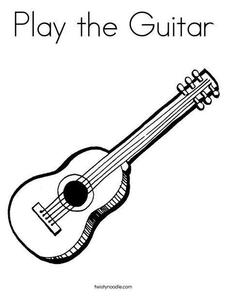 Images Guitar Coloring Pages Print This Coloring Page It Ll Print Full Page Coloring Pages Color Guitar