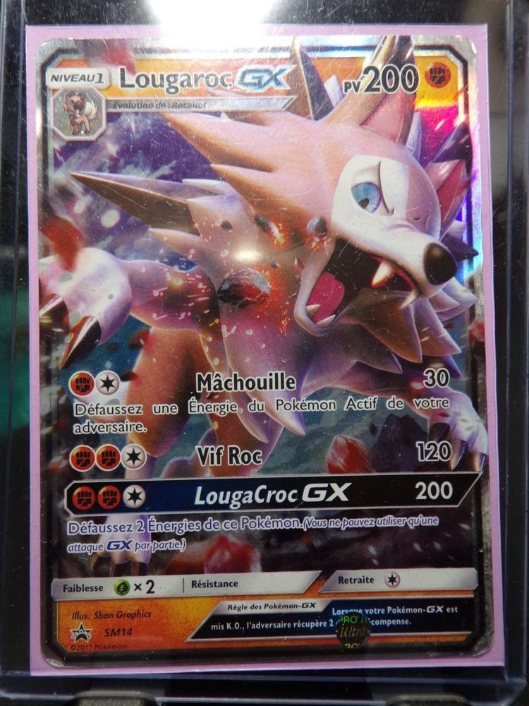 carte pokemon lougaroc gx 1 carte POKEMON SM14 Lougaroc GX FR neuve | Carte pokemon, Carte