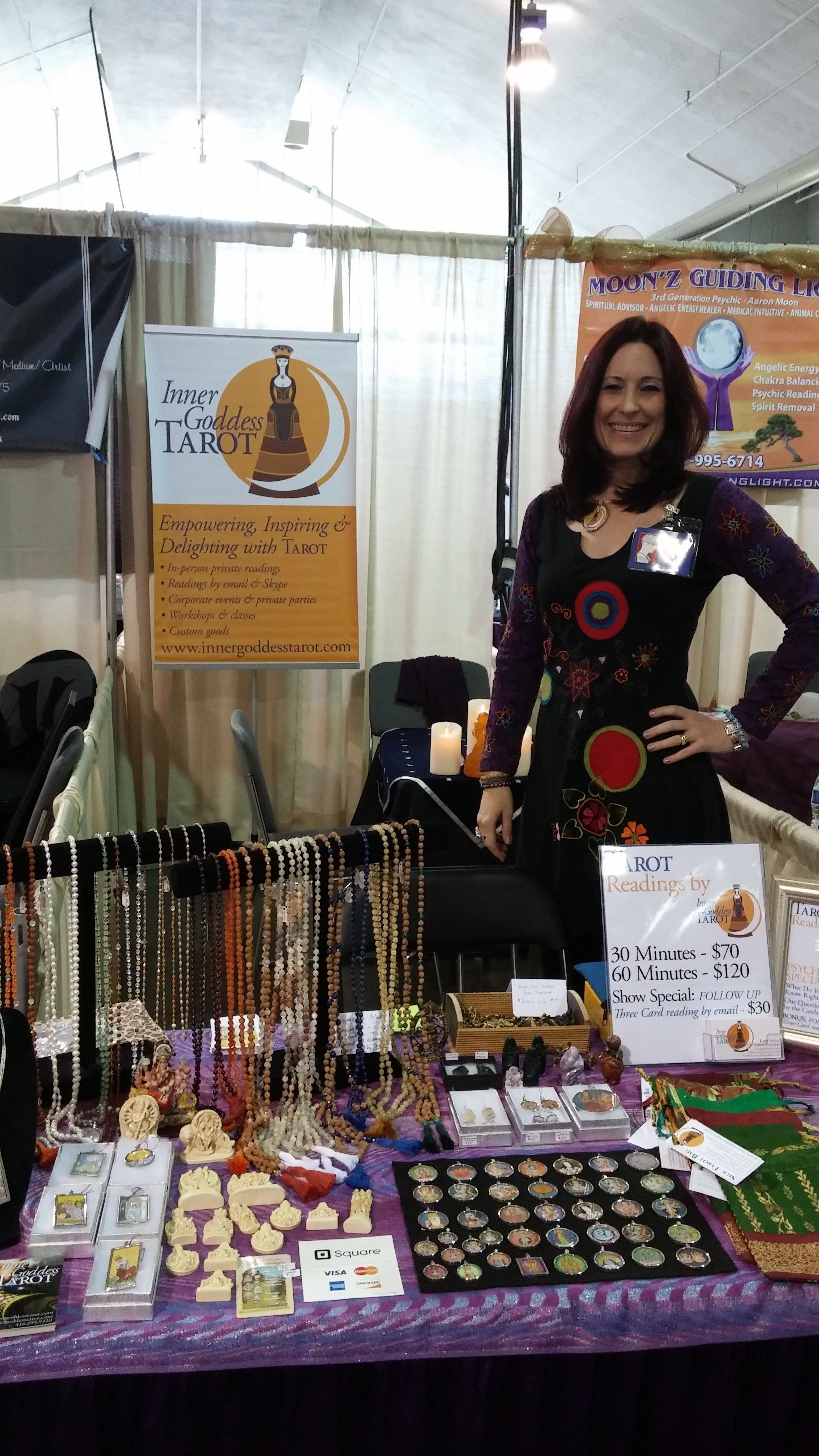 at the first star spring psychic expo at the cne in toronto april