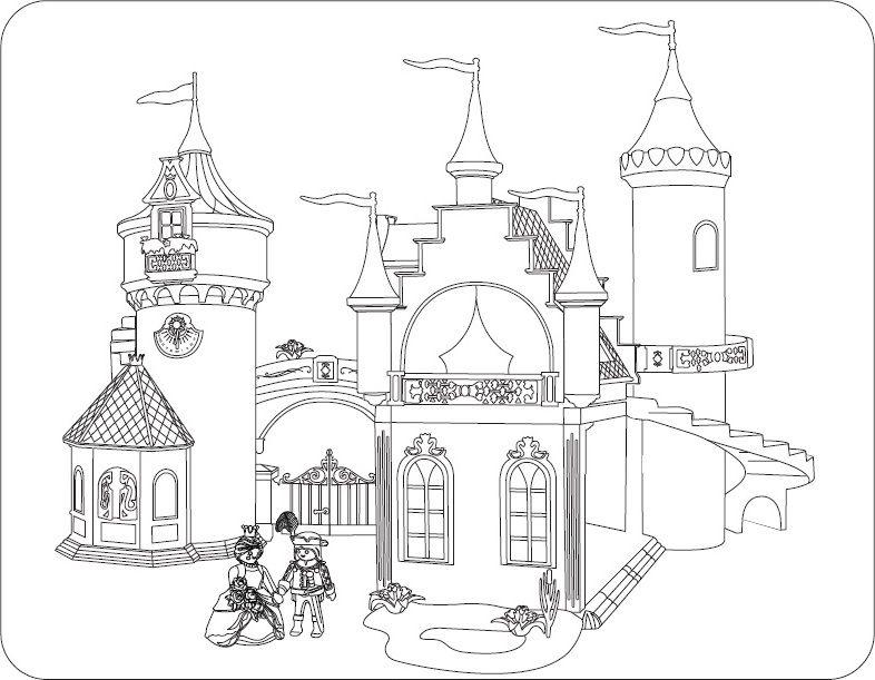 Ausmalen Macht Spaß Alle Playmobil Malvorlagen Coloring 6