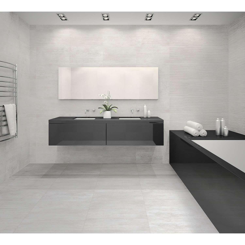 Badezimmer design weiß bodenfliesen bodenfliese return weiß xcm  fliesen badezimmer