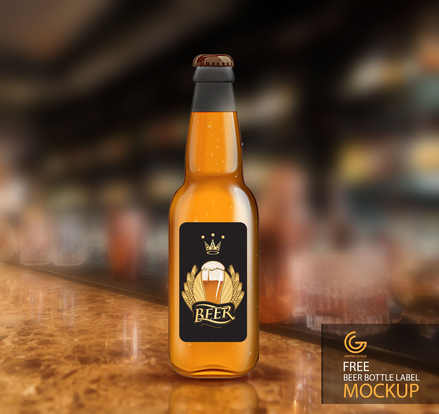 http://graphicgoogle.com/free-beer-bottle-label-mockup/ | Mockup ...