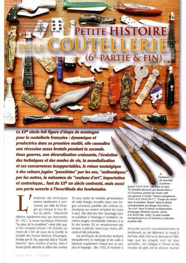 Le Couteau - 6* Le XXème siècle **