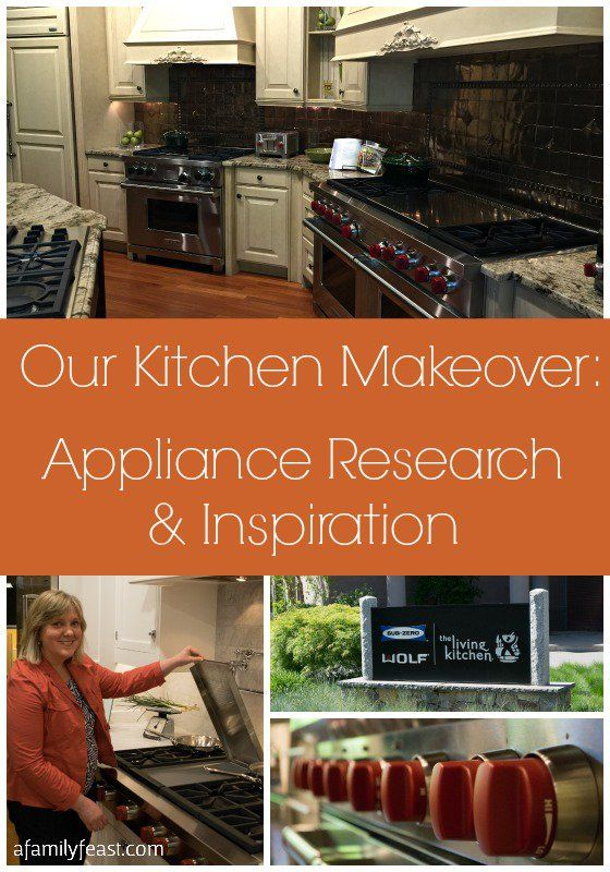 Our Kitchen Makeover Appliance Research Inspiration Kitchen