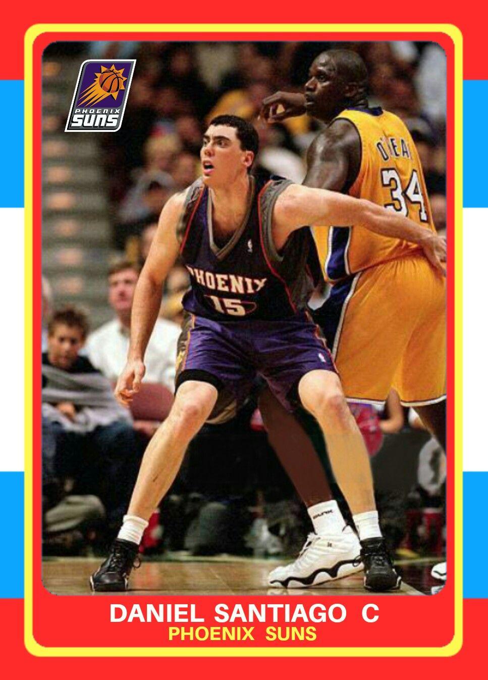 Daniel Santiago Suns NBA custom basketball card Nba