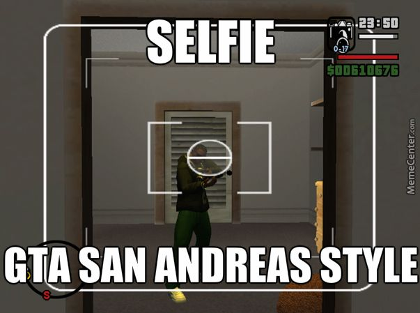 Selfie Gta San Andreas Style San Andreas Gta San Andreas Gta