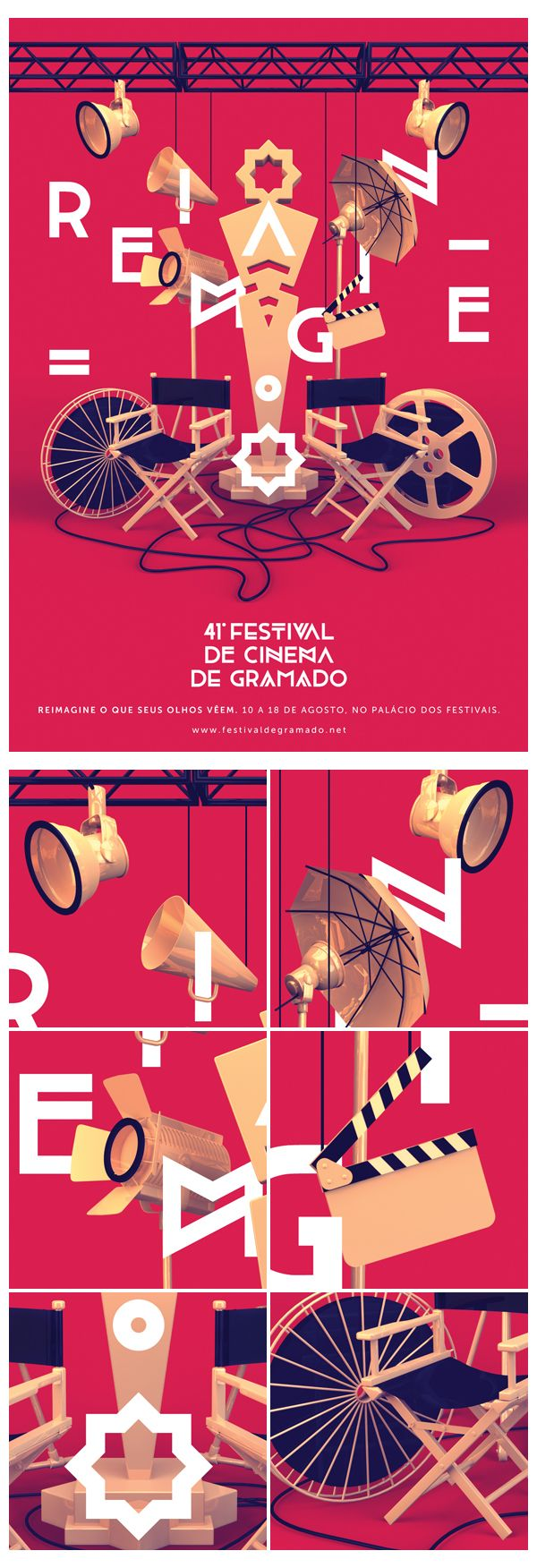 Festival de Cinema de Gramado on Behance