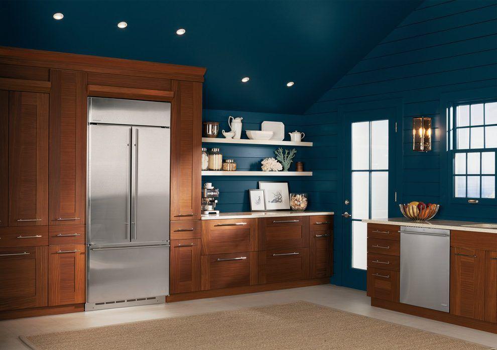 farrow ball hague blue kitchen contemporary with   Popular ...