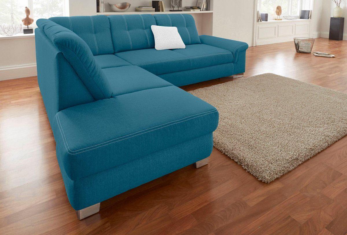 Ecksofa Mit Sitztiefenverstellung Wahlweise Mit Bettfunktion Ecksofas Sofa Und Sofa Set Designs