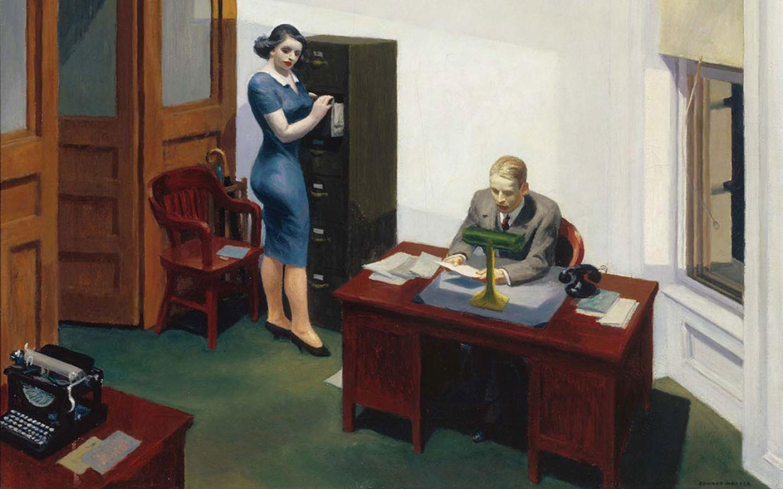 La Nuit au Bureau, 1940