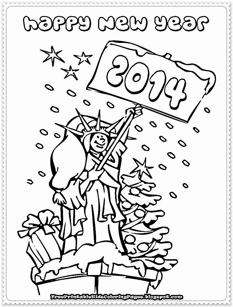 Printable New Years Coloring Pages Unique New Year Printable Coloring Pages Free Print New Year Coloring Pages Printable Coloring Pages Coloring Pages For Boys
