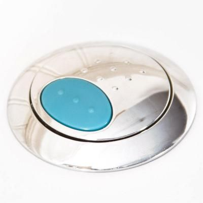 Glacier Bay Push Button In Chrome For Dual Flush Toilets A3616 At The Home Depot Dual Flush Toilet Chrome Glacier Bay