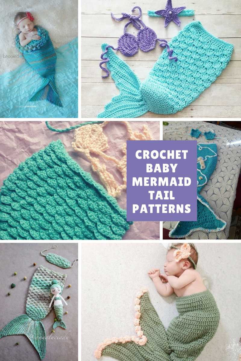 Baby Mermaid Crochet Pattern Amazing Inspiration Design