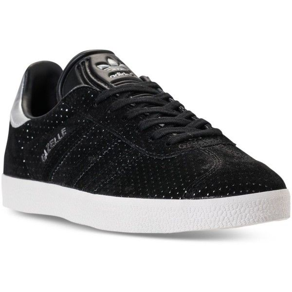 9739ac2d9 adidas Women s Gazelle Casual Sneakers from Finish Line ( 45) ❤ liked on Polyvore  featuring shoes