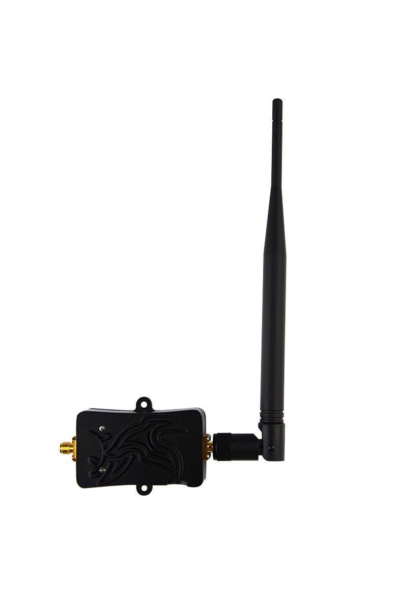 4 W WLAN WiFi Signal Booster 2.4 Ghz Wireless WLan Router 5bi wi fi ...