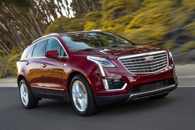2017 Cadillac XT5 front 2017CadillacXT5