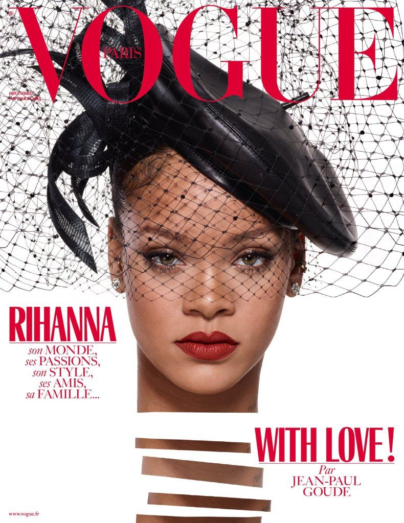 bcf2d69bf Rihanna Vogue Paris Magazine Covers | Rihanna - The One and Only ...