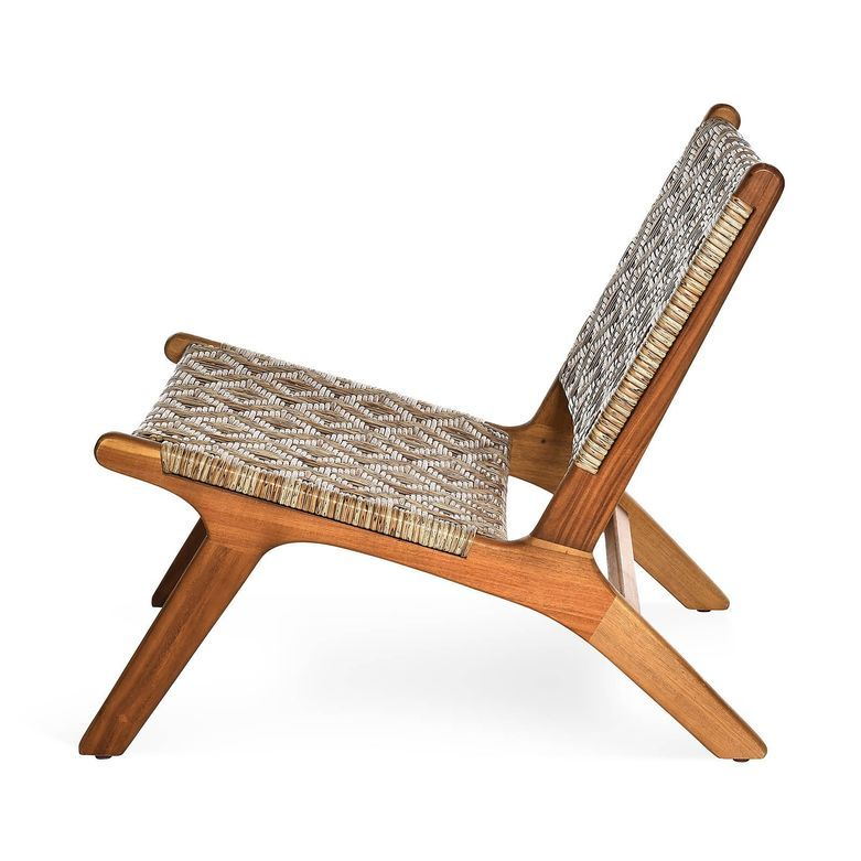Loungestuhl Retro Fsc 100 85x96x67cm Natur Natur Lounge Stuh