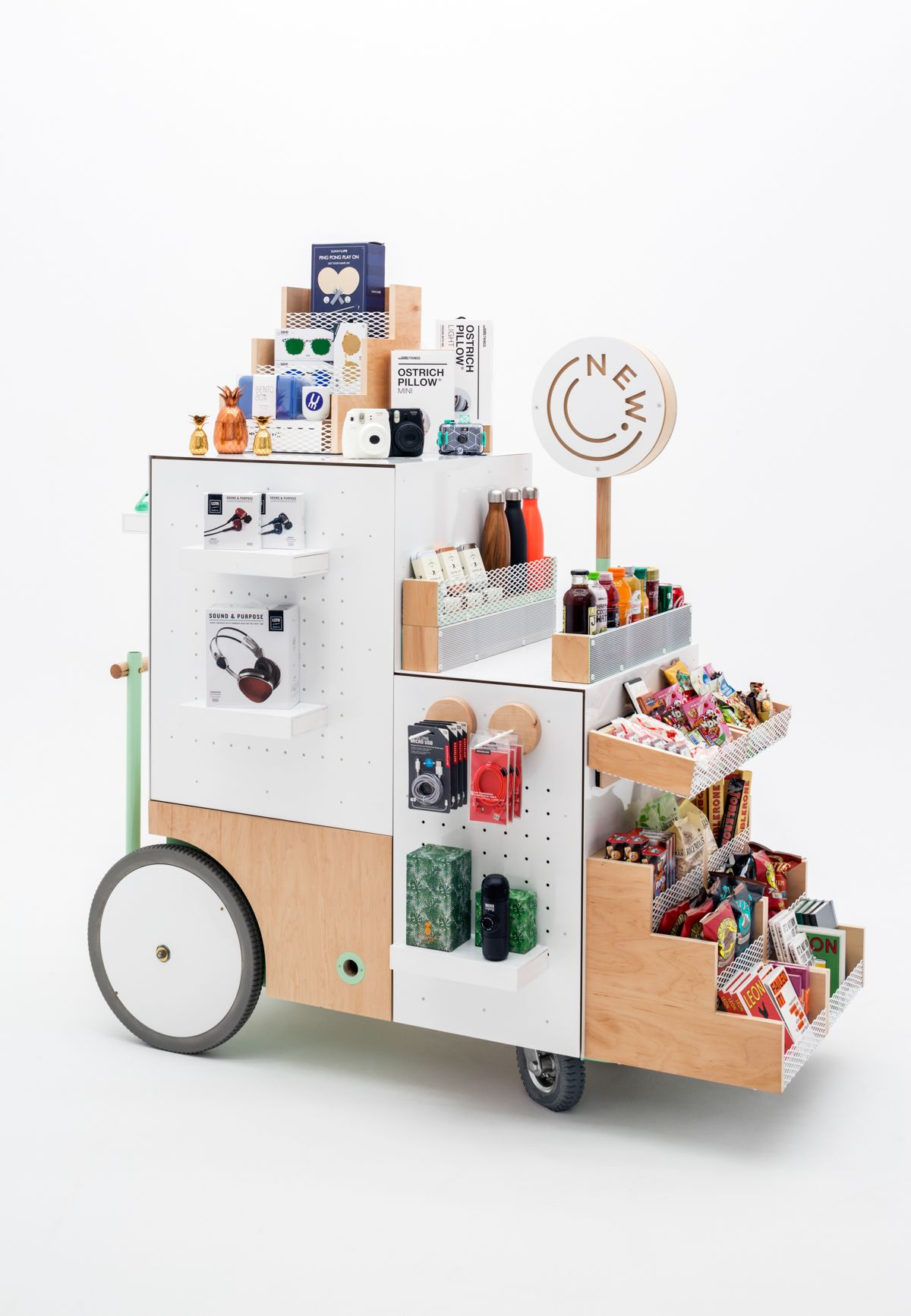 Image result for the new stand retail design retail for Mobili convenienti
