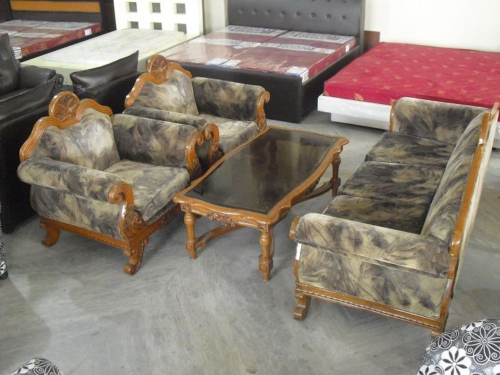 Pin By Vipul Enterprises On Second Hand Home Furniture Wooden Sofa Used Furniture For Sale Furniture