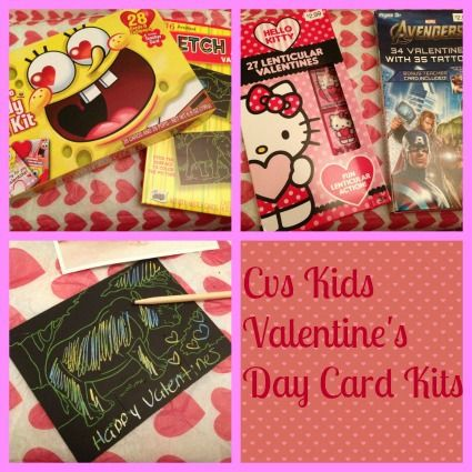 Cvs Has Some Awesome Valentines Day Card Kits For Kids Under Three Dollars CVS Valentinesdaycards Cards