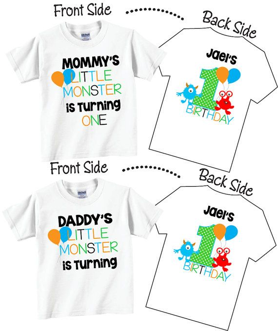 Birthday Shirts For Mom And Dad Family Set By TheCuteTee