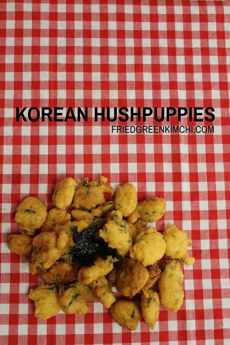 Korean Hushpuppies Create A Recipe Hush Puppies Kimchi