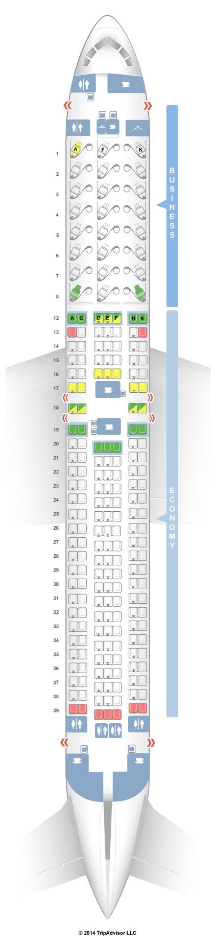 Seatguru seat map air canada boeing er  also travels in rh pinterest