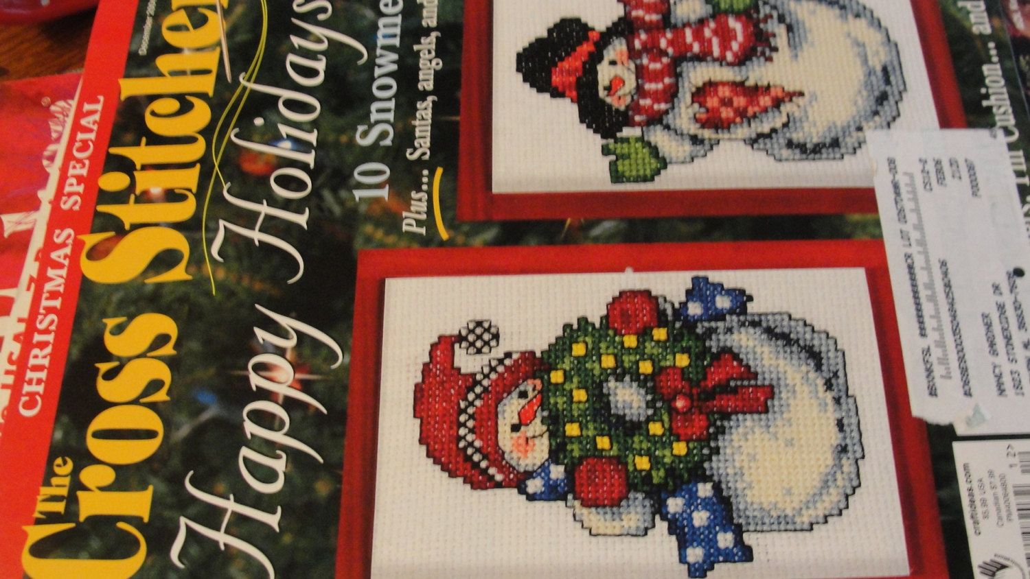 The Cross Stitcher Magazine Christmas Special Back Issue December 2004
