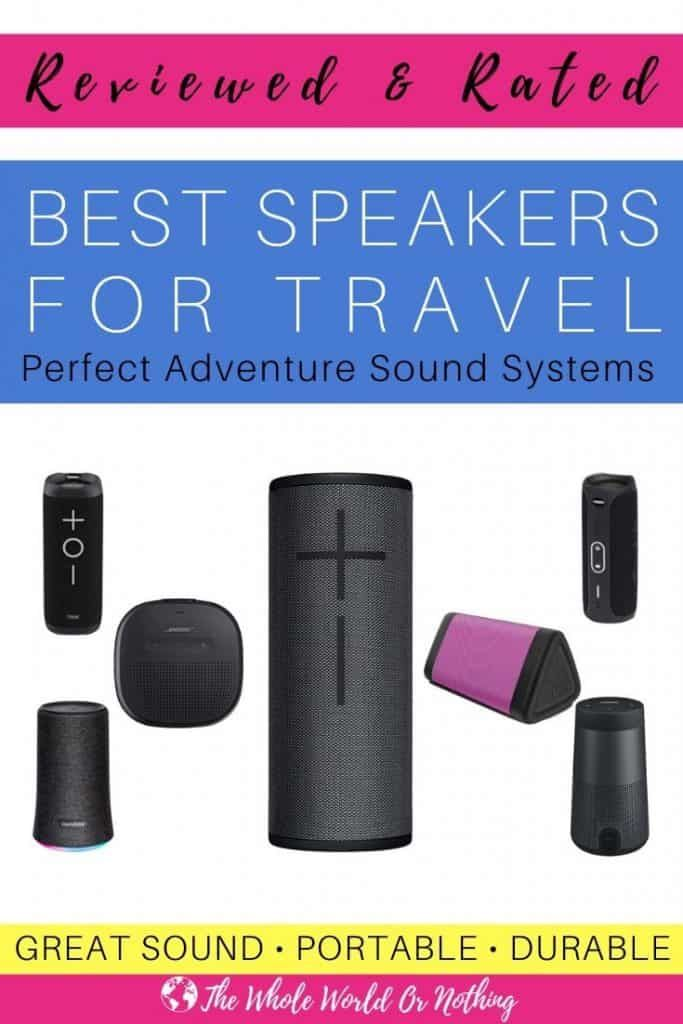 Best Travel Speakers 2020 Rated & Reviewed (With images