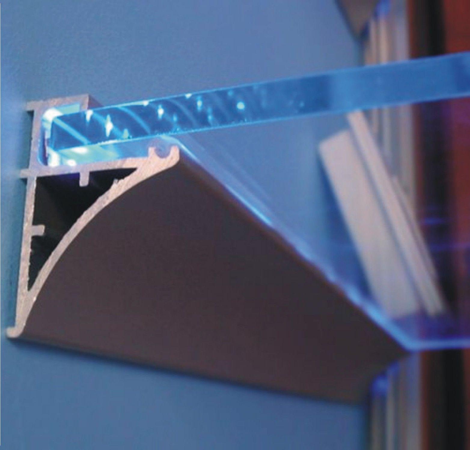 led profiel glas line iiii led verlichting en energie zuinige verlichting van ledwre