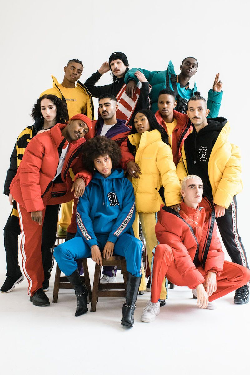 Inclusive Ultra-Chromatic Fashion Editorials - The Daily Paper's Colorful Photoshoot Promotes Unity (TrendHunter.com