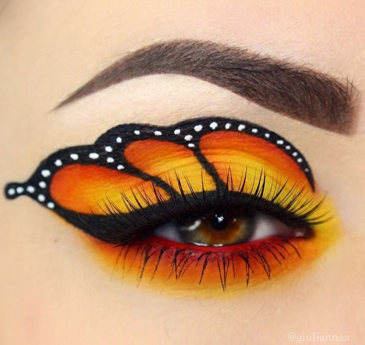 Pin By Arthur Laibly On Eyes In 2019 Butterfly Makeup Creative Butterfly Makeup Fantasy Makeup Creative Eye Makeup